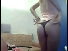 Playing dirty games with my new acquaintance in webcam chat