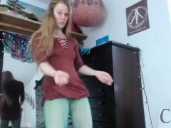 Blonde Teen Jerk Off Instruction