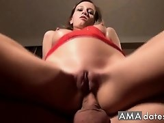 Young German anal creampie