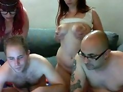 Our first webcam swinger video