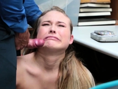 18 inch cock destroys women and blonde milf seduces