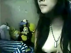 Interesting webcam chat with charming brunette girl from Vietnam