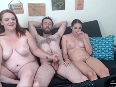 Big boobs slutty officers threesome