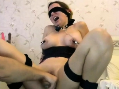 Painful Sex Cam Show with Raemonnay a sub Cam Girl