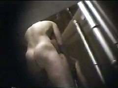 My hidden video cam films young couple having a quick fuck
