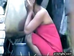 Cute Indian chick with slim body gets caught on hidden camera