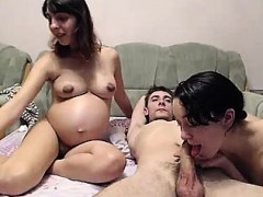 Pregnant webcam fuck