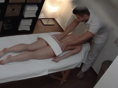 Dirty Masseur Fucks SEXY Busty Girl during Massage