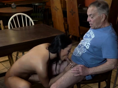 Old kissing and grandfather sex Anna and her beau came to