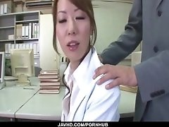 Misato Sakurai gets stimulated with toys