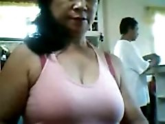 Random horny Filipino lady wanted to flash her big tits
