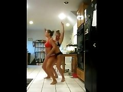 Me and my girl friend in bikini on cam shaking our fabulous asses
