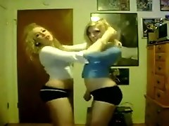 We wanted to act like skanky sluts on webcam before going out