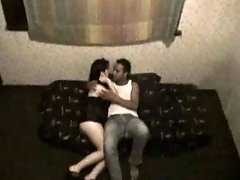 Hot hidden cam scene with me licking my lover's snatch