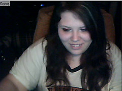 My pretty teen face on webcam