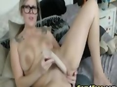 Hot Babe Getting Fucked By Her Sex Toys
