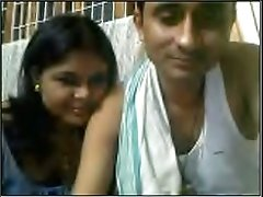 My buddy asks his Indian friend to make wifey flash her boobies on webcam