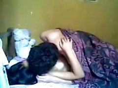 Young man eats delicious pussy of his Indian girlfriend