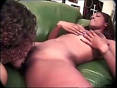 Horny cameraman gets his cock sucked while filming kinky lesbian sex scene