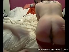 Smoking amateur girls showing their sexy bodies on webcam