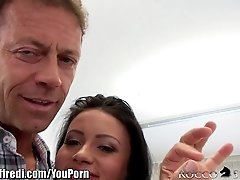 RoccoSiffredi FIRST time on Camera and she does Anal