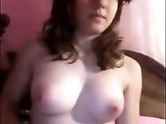 I'm on adult webcam, rubbing my hot clitoris