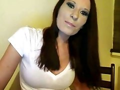 Beautiful French babe loves to flirt on webcam