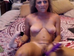 Curly housewife squirts like fountain several times