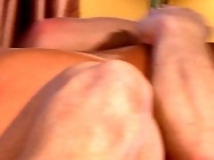 Sexy blonde MILF is nailed hard from behind while having passionate sex in front of camera
