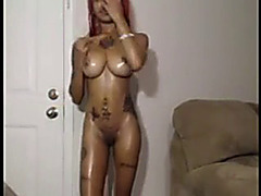 Creamy Exotica Anal Plug and Pizza Guy