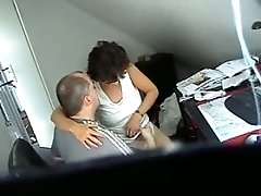 My first spy video featuring my sex-hungry mature wife