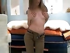 Crazy Webcam movie with Redhead scenes