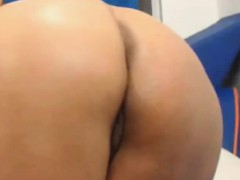 Jerk off on mature ass