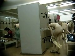 Amazing hidden cam video from a pool changing room