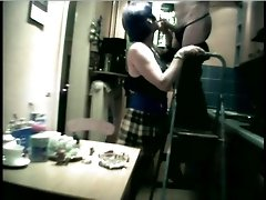 I and my slutty German GF played role games on cam