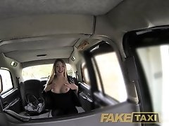 FakeTaxi Local nymphomaniac wants cock
