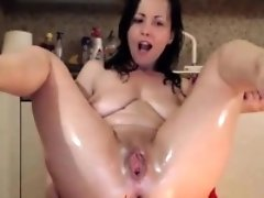 Euro Anal Queen Cam Girl, live on Spicygirlcam,com
