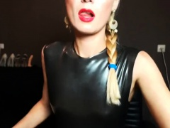 Latex Wank Jerk Off