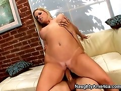 Endless pleasure with busty blonde Cameron Keys